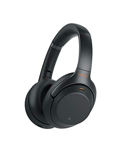 gift ideas for men who travel Sony WH1000XM3 Noise Canceling Over Ear Headphones