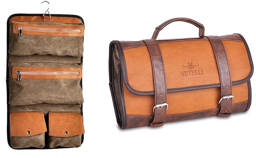 gift ideas for men who travel vetelli Hanging Toiletry Bag for Men