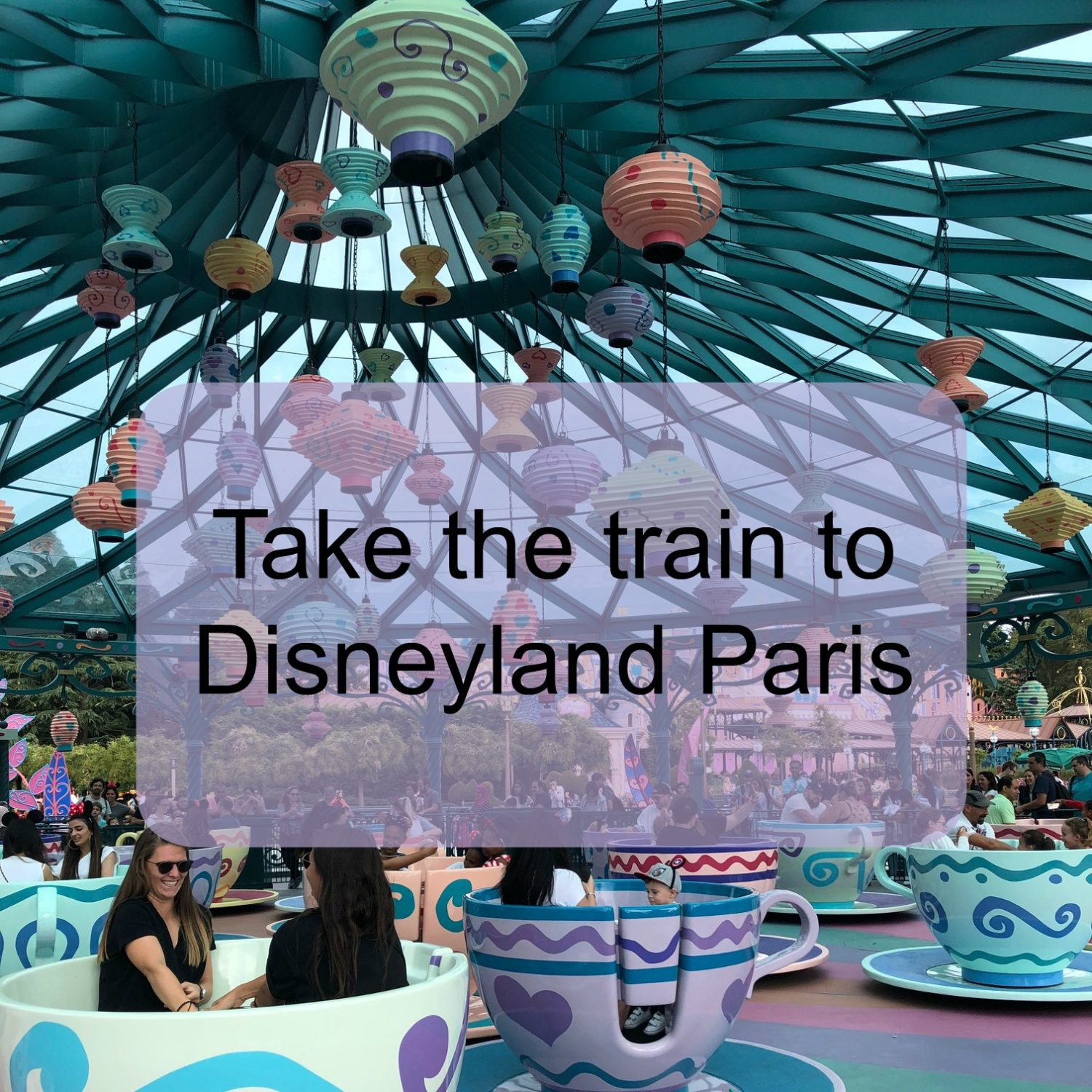 How to take the train to Disneyland Paris