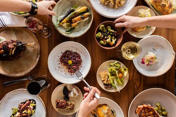 Boston for Thanksgiving dinner Bambara Friendsgiving. Credit Peter Holmgren