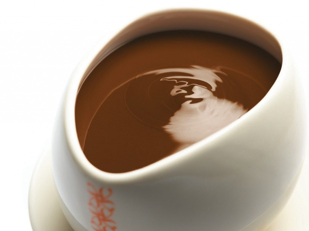 Max Brenner hot chocolate in Boston therovingfox.com