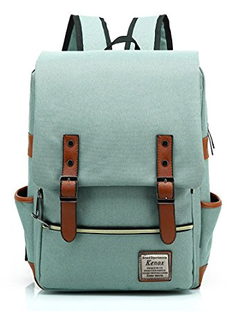 gift ideas for female travelers Kenox Vintage Laptop Backpack