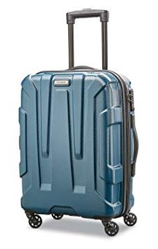 gift ideas for female travelers Samsonite Centric Hardside 20 Carry-On Luggage Teal