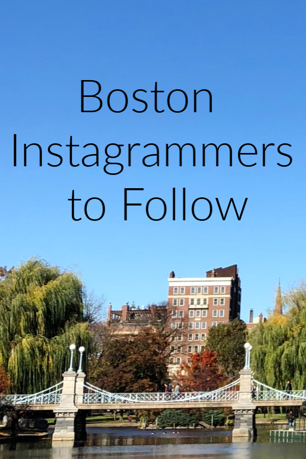 Boston Instagrammers to follow in 2019 Pinterest
