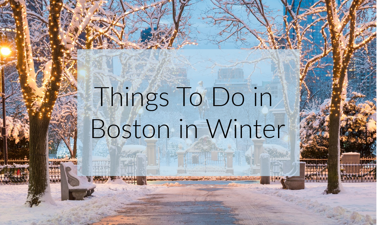 Things To Do in Boston in Winter