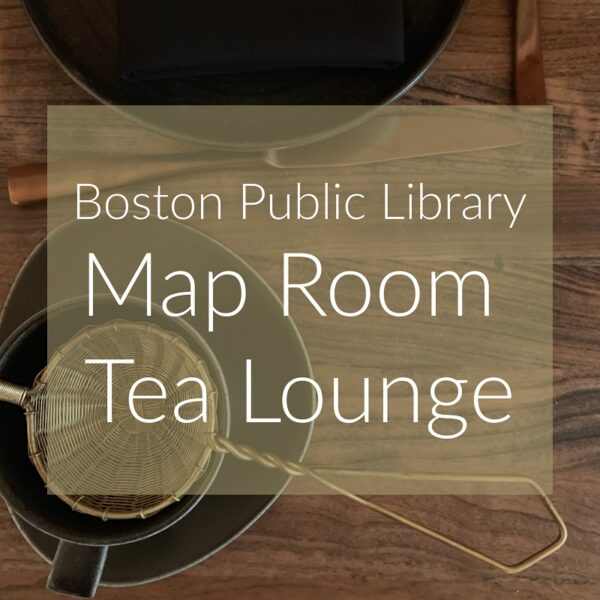 Boston Public Library Opens the Map Room Tea Lounge with Cocktails