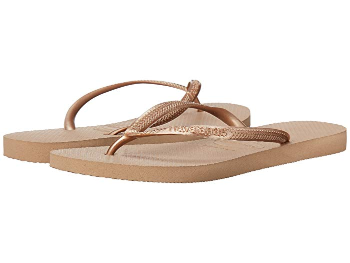 Havaianas slim flip flops best travel shoes for women