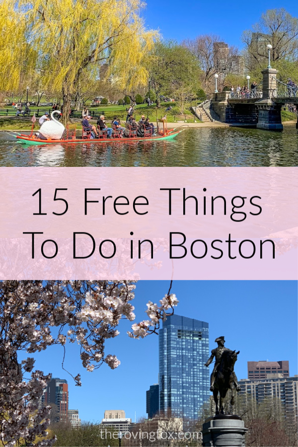 15 Free Things To Do in Boston. Free events in Boston this summer