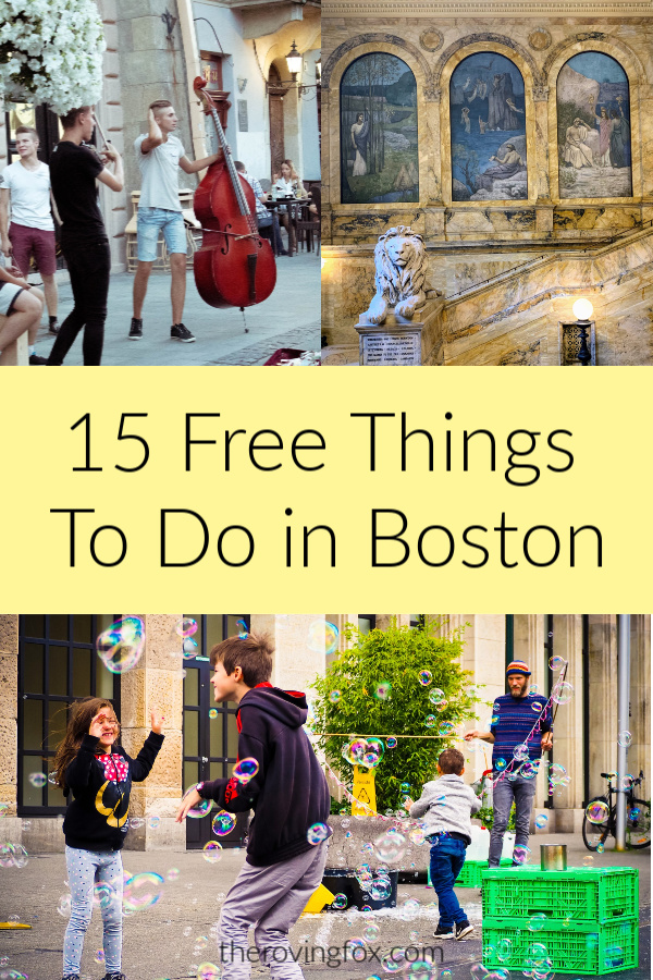 Free Things To Do in Boston. Free events in Boston this summer
