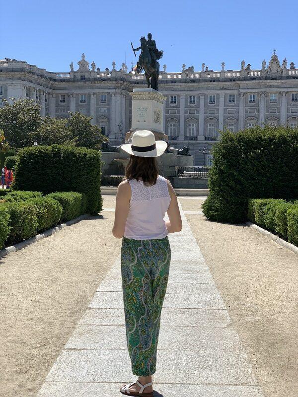 Madrid Palacio Real Plaza de Orientegarden