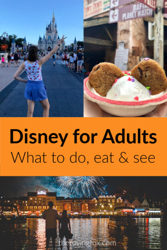 Disney for adults and things to do at Disney World for adults
