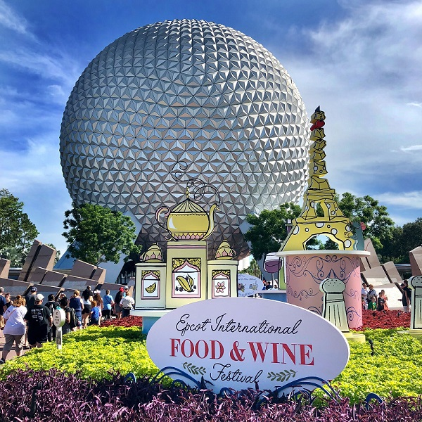Epcot Food and Wine Festival Disney for adults