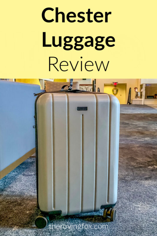 Chester Luggage Review Pinterest