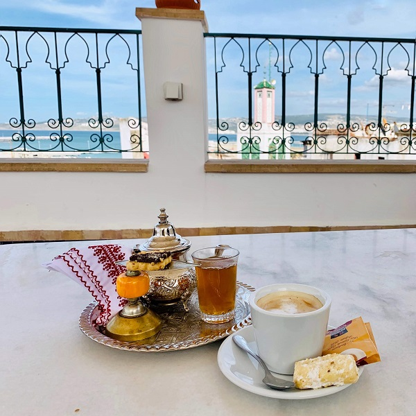 Afternoon tea in Morocco