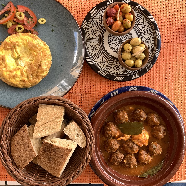 Rif Kebdani Tangier dinner