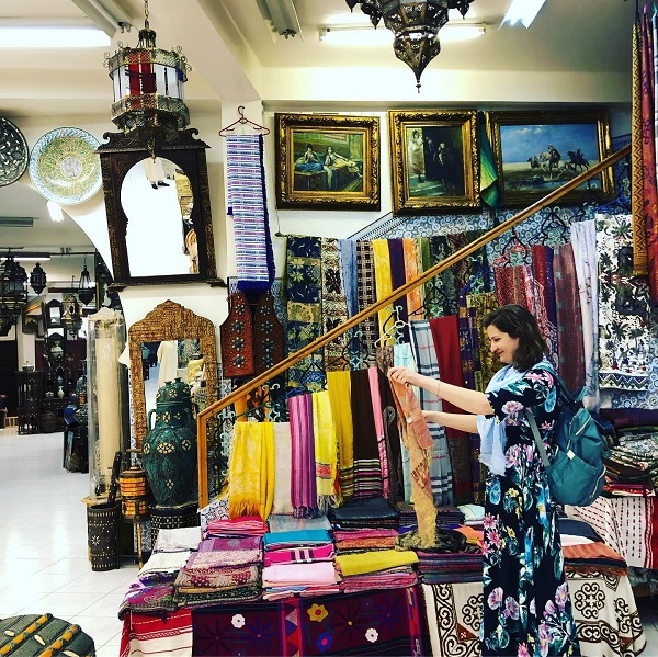 Shopping in Tangier Morocco