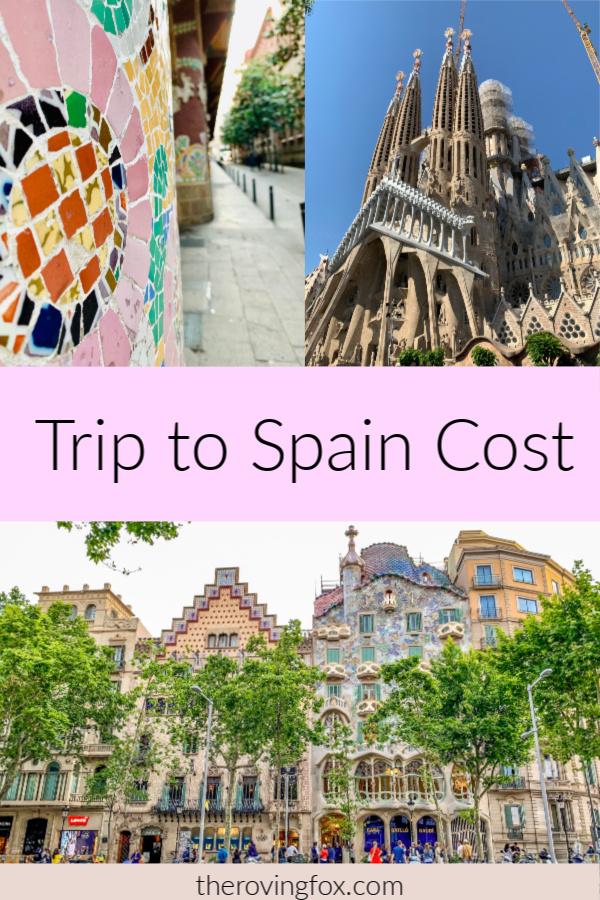 Spain travel budget. 2 Weeks in Spain Pinterest