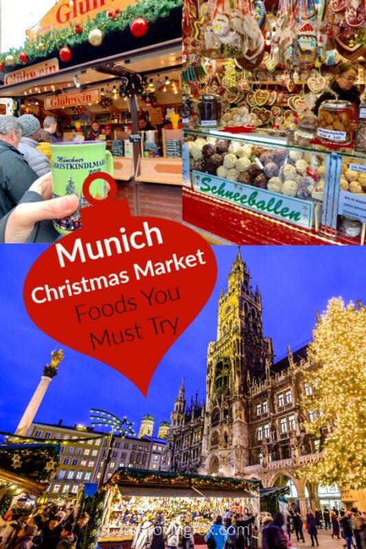 Munich Christmas Market Food Header Pinterest