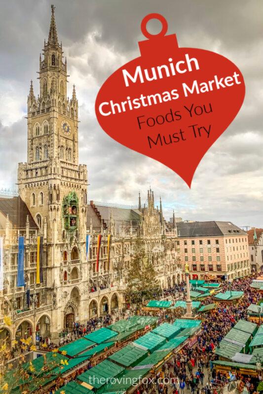 Munich Christmas Market Foods Pinterest