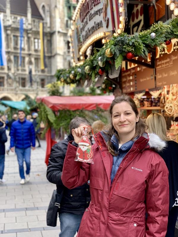 Munich Christmas Market Gingerbread