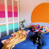 DIY Colourful Wardrobe: Home Renovation Diaries #5
