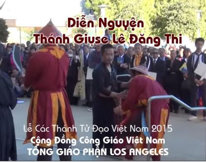 Video diễn Nguyện Thánh Giuse Lê Đăng Thị