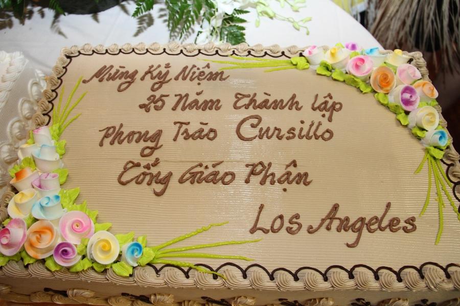 Photo / Video Sinh Hoạt và Mừng 25 Năm Phong Trào Cursillo TGP-LA