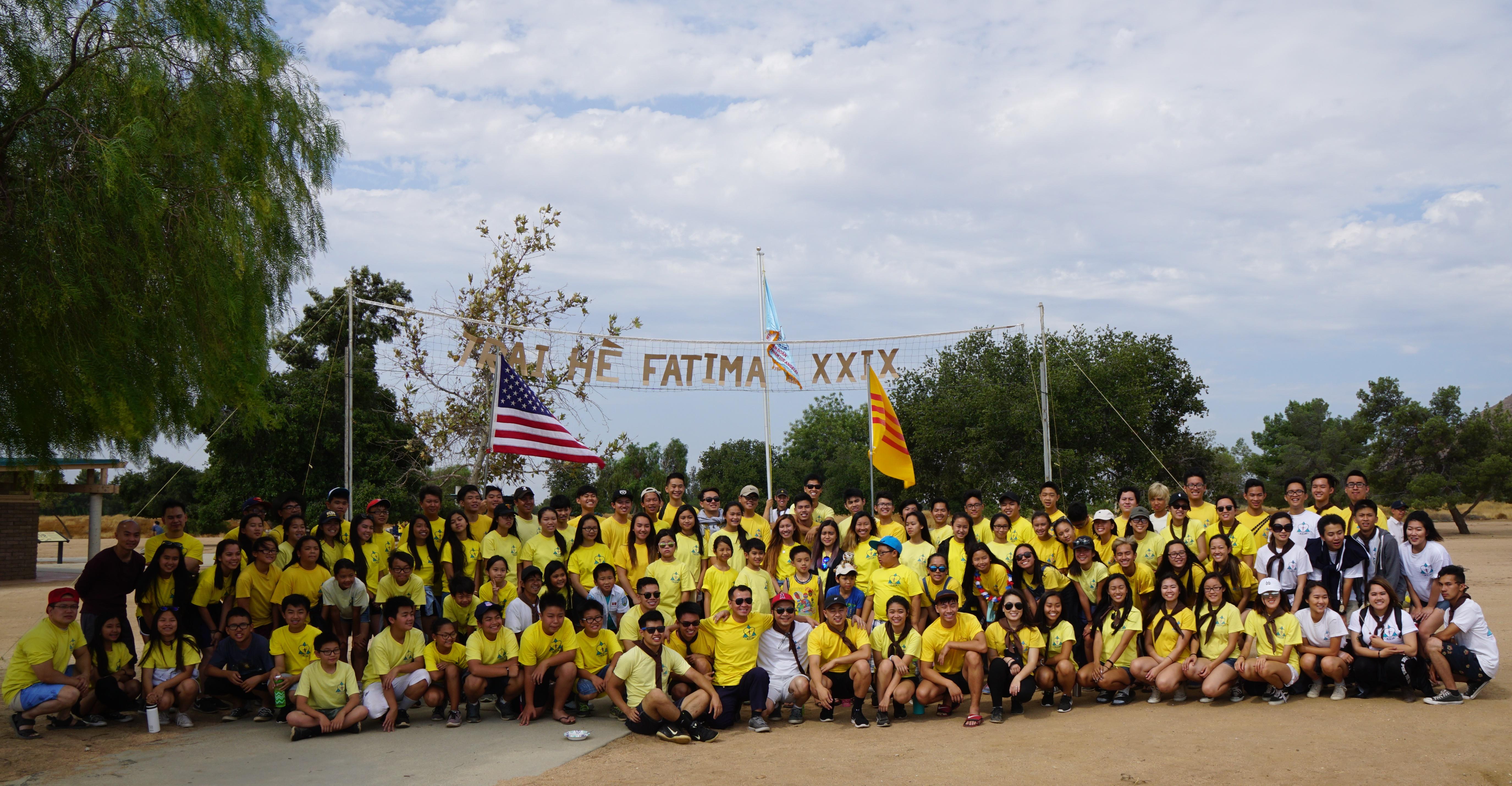Photo Liên Đoàn Thiếu Nhi Fatima TGP-Los Angeles