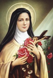 st-therese-with-roses