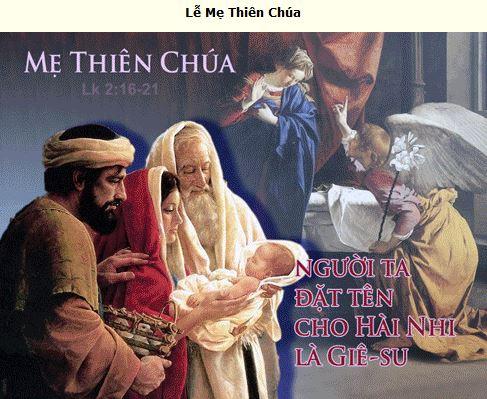 Suy Niệm - CN Lễ Mẹ Thiên Chúa - Jan. 01 - Năm A