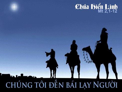 Suy Niệm - Lễ Hiển Linh - Jan. 08 - Năm A