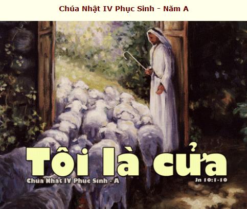 Suy Niệm - Chúa Nhật 4 Phục Sinh - May 03 - Năm A - Thánh Lễ Online Daily Mass