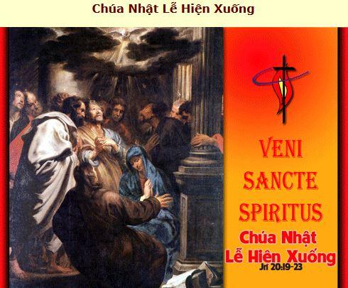Suy Niệm - Lễ Chúa Thánh Thần - May 16 - Năm B