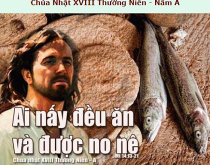 Suy Niệm - Chúa Nhật 18 Thường Niên, Lễ Chúa Giêsu Hiển Dung - August 02 - Năm A