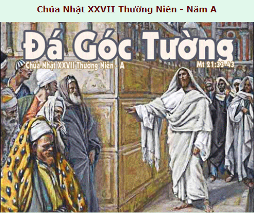 Suy Niệm - Chúa Nhật 27 Thường Niên - October 04 - Năm A - Daily Mass Thánh Lễ Online