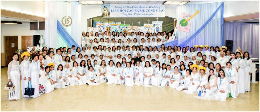 Liên Hội Các Bà Mẹ Công Giáo – Mừng Lễ Bổn Mạng và Kỷ Niệm 15 Năm Thành Lập