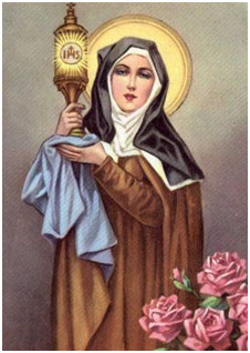 Thánh Clara Ðồng Trinh (1194-1253) – Kính ngày 11 tháng 8