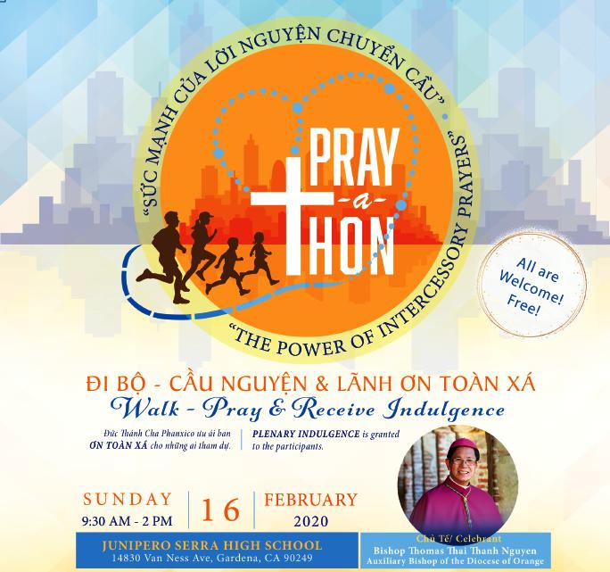 PHOTO: Prayer A Thon - Đi Bộ, Cầu Nguyện & Lãnh Ơn Toàn Xá - Ngày 16 Tháng 2 Năm 2020