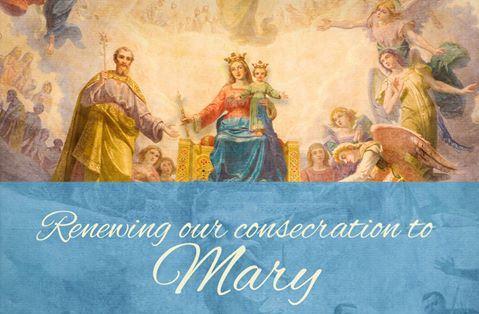 Video Thánh hiến Hoa Kỳ cho Đức Mẹ 12:00pm ngày 1/5/20