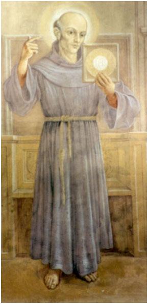 Thánh Bernađinô thành Siêna, Linh Mục (1380-1444)  Kính ngày 20 tháng 5