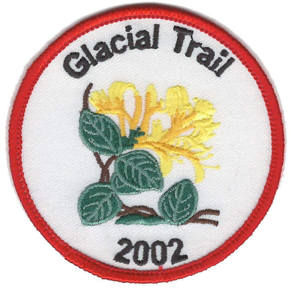 Badger Trails Glacial Trail Hike Patch 2002