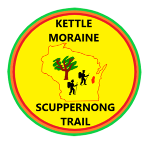 Badger Trails Scuppernong Hike Logo