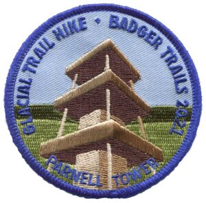 Badger Trails 2021 Glacial Trail Hike Patch