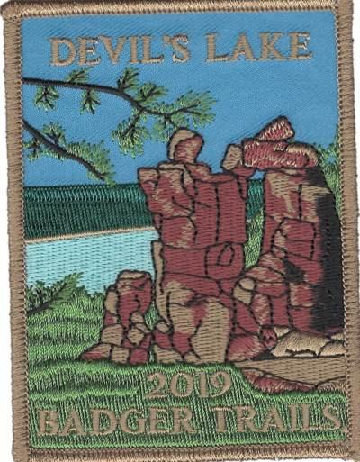 2019 Devil's Lake Hike Patch