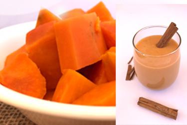 Sweet Potato Pie Smoothie recipe! Antioxidants, vitamin A and lots of tasty goodness! ZERO sugar!