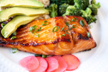 miso glazed salmon recipe
