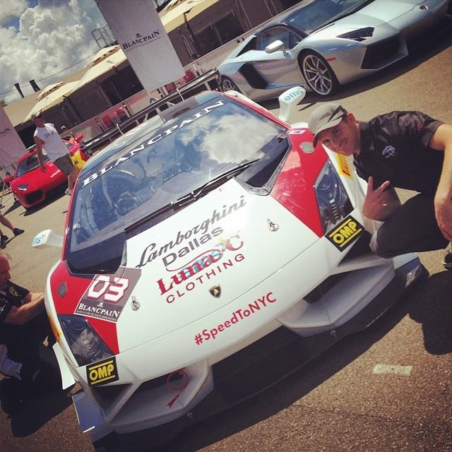 Scott Speed Supports EMS+ During Race Weekend