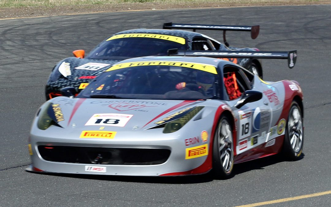 Sonoma Raceway Ferrari Challenge with EMS Race Team and Cornerstone of Hope
