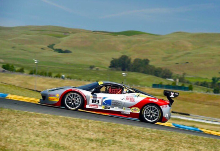 EMS Race Team Hopes To Build on Suzuka Circuit Success at Sonoma Ferrari Challenge