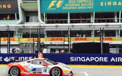 EMS Race Team Raises Awareness for PETA Cruelty Free and Cornerstone of Hope in Singapore During F1 Weekend